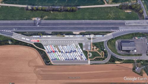 Möglicher Ausbau Kolonnenparken